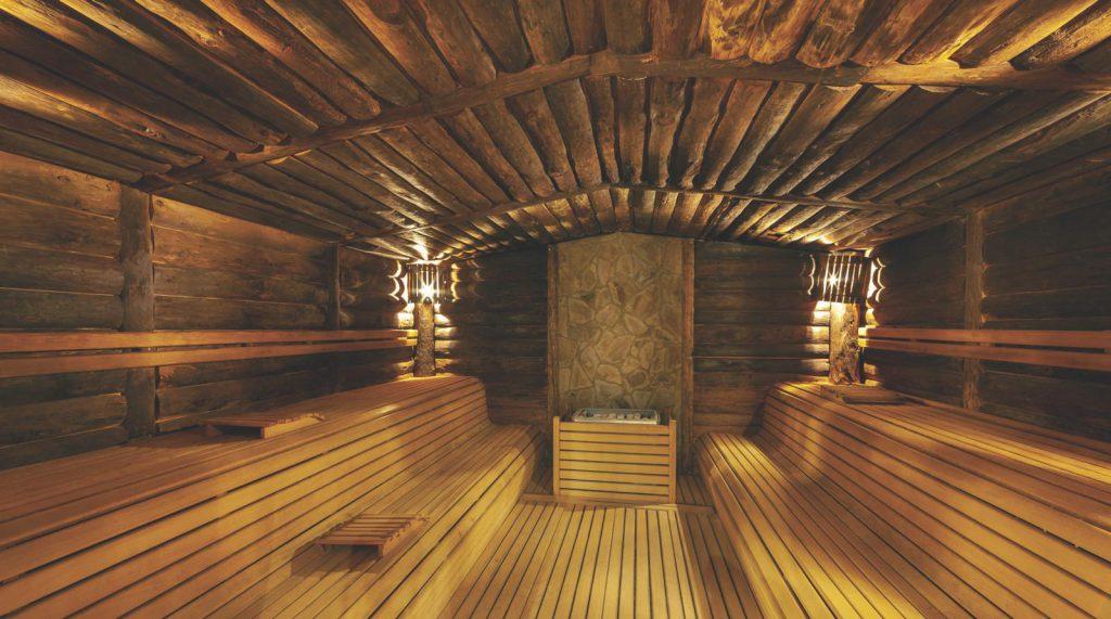 Sauna imalatı tamamlanmış projelerden biri